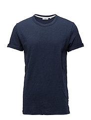 Minimum DELTA - T-shirt basic - dark iris