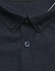 Minimum - mario - chemises business - dark navy mel - 2