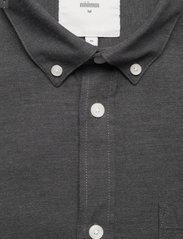 Minimum - jay 2.0 - basic overhemden - carbon mel - 2