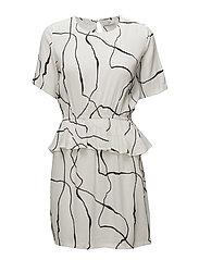 my dress - BROKEN WHITE