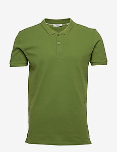 Zane - short-sleeved polos - garden green