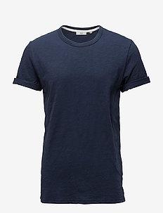 Delta - kortærmede t-shirts - dark iris