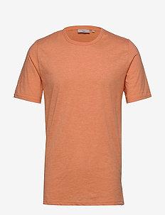 Delta - short-sleeved t-shirts - sun baked melange