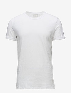 Delta - short-sleeved t-shirts - white