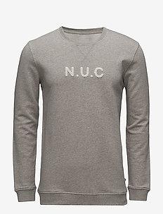 Campi - sweatshirts - light grey melange