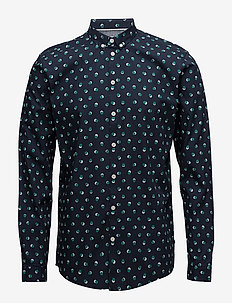 Crest - business skjortor - dark navy