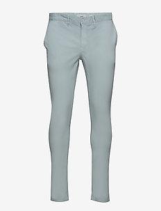norton 2.0 - chinos - aqua gray