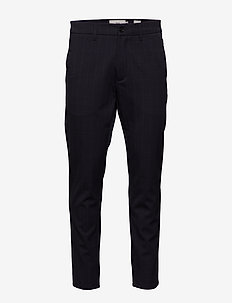 ugge 2.0 - suit trousers - dark saphire