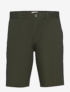 frede 2.0 - chinos shorts - racing green