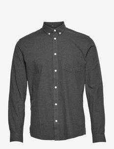 jay 2.0 - basic skjorter - carbon mel