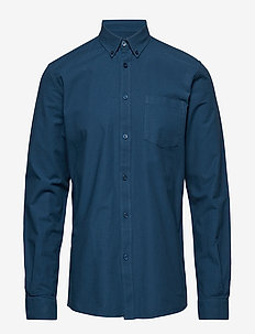 jay 2.0 - oxford skjorter - petrol