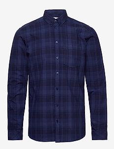 jay 2.0 - koszule w kratkę - indigo blue