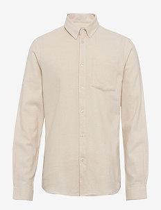 jay 2.0 - basic skjortor - ecru