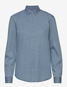 walther - denimskjorter - light blue