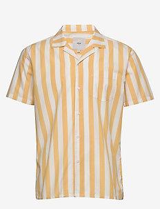 emanuel - kortärmade skjortor - rattan