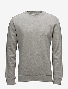 sejr - basic sweatshirts - light grey melange