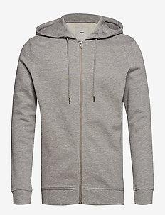 ville - hættetrøjer - light grey melange