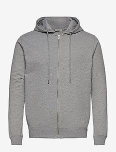 ville - sweats à capuche - light grey melange