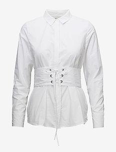 Acanit - overhemden met lange mouwen - white