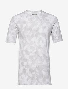 sanches - kortærmede t-shirts - ash