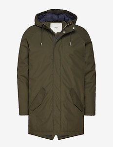 wexford 3.0 - parka's - racing green