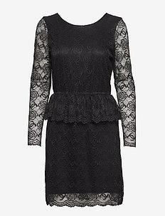 Nikola - spetsklänningar - black