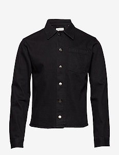 thisted - jeansjackor - black wash
