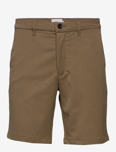 ceasar - tailored shorts - khaki