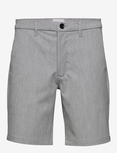 ceasar - tailored shorts - light grey melange