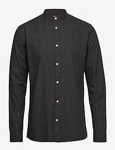 anholt - casual skjortor - carbon mel