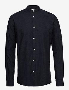 anholt - casual skjortor - navy blazer mel