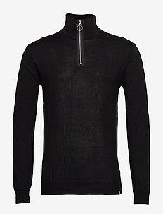 florman - basic knitwear - black