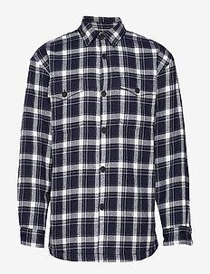markussen - ternede skjorter - dark saphire