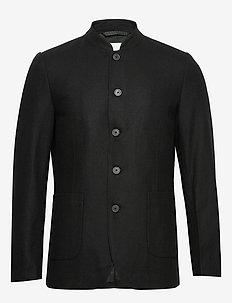 hattesen - single breasted blazers - black