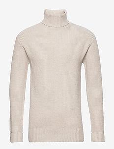 hargreaves - basic knitwear - stone