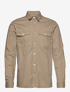 vermont - casual skjortor - khaki