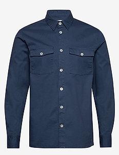 vermont - casual skjortor - sargasso sea