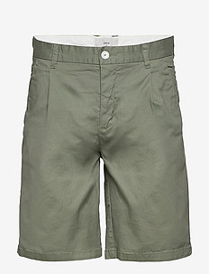 oran - chinos shorts - sea spray