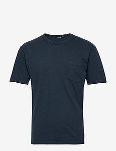 haris - basic t-shirts - dark saphire