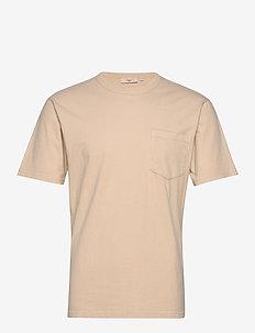 haris - basic t-shirts - khaki