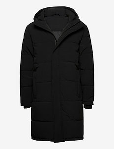 andan - padded jackets - black