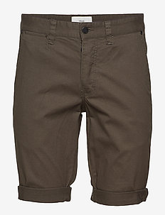Frede - chinos shorts - dark forrest