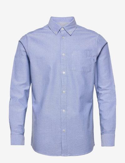 charming - linneskjortor - light blue