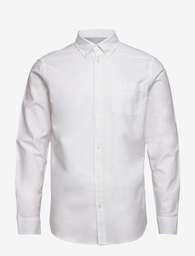 charming - linnen overhemden - white