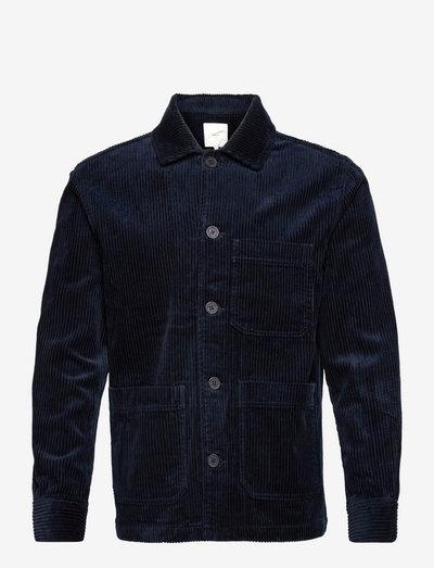 campos - casual overhemden - navy blazer