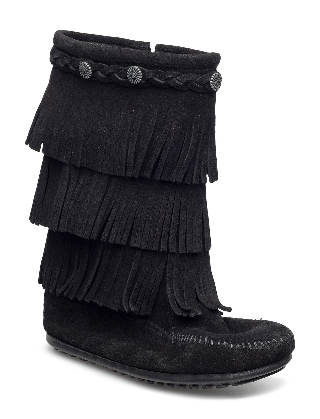 Minnetonka 3-Layer Fringe Boot K