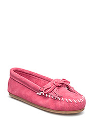 Kilty Suede Moc K - HOT PINK
