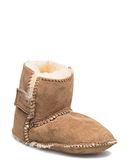 Sheepskin Pug Bootie B - GOLDEN TAN