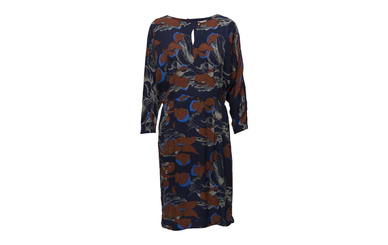 Viscose Minus Print Green Dress 100 Audrey Floral 8YOTxYrFq
