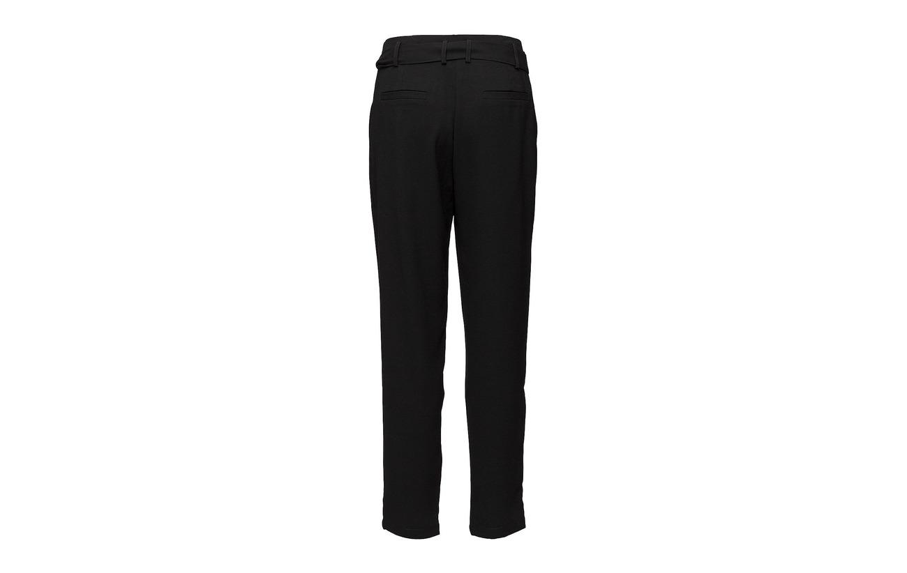 100 Minus Polyester Black Pants Dunja Iris rqqzI4